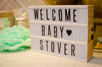 Stover Baby Shower 2019