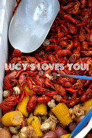 Crawfish Boil at Lucy's Retired Surfer Bar and Restaurant