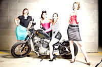 Rockabilly Pinup Photo Shoot (Behind The Scenes) 2013