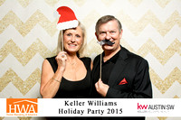 Keller Williams - Holiday Party - Zappy Booth - 2015