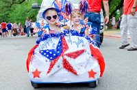 City of West Lake Hills July 4th Parade 2017 Hosted by Westlake Chamber of Commerce - No Swoosh