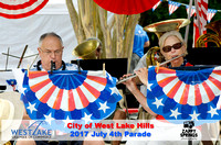 City of West Lake Hills July 4th Parade 2017 Hosted by Westlake Chamber of Commerce - With Swoosh