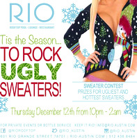 Rio Tis The Season To Rock Ugly Sweaters Party 2013