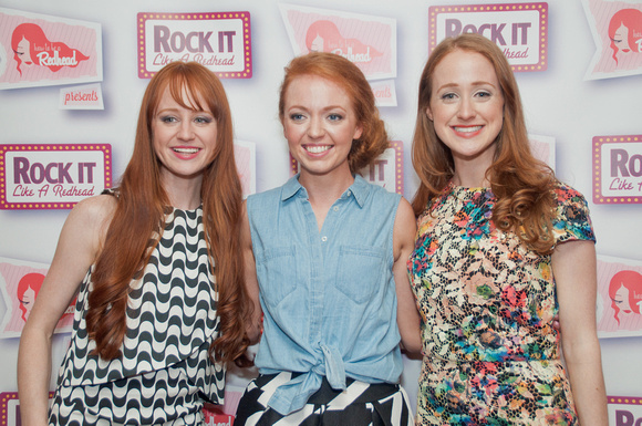Rock It Like A Redhead 2015 - Press Wall