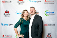 Homecity Holiday Party 2017 - Press wall