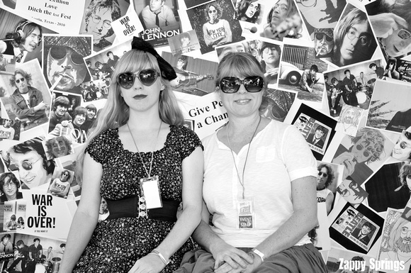 Ditch The Fest Fest - John Lennon Photo Booth