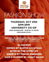 UT Co-Op Fashion Show 2014