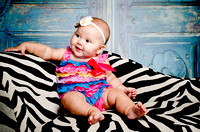 Baby Hadley - 4 month photos