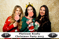Platinum Realty Holiday Party 2015 - Logo